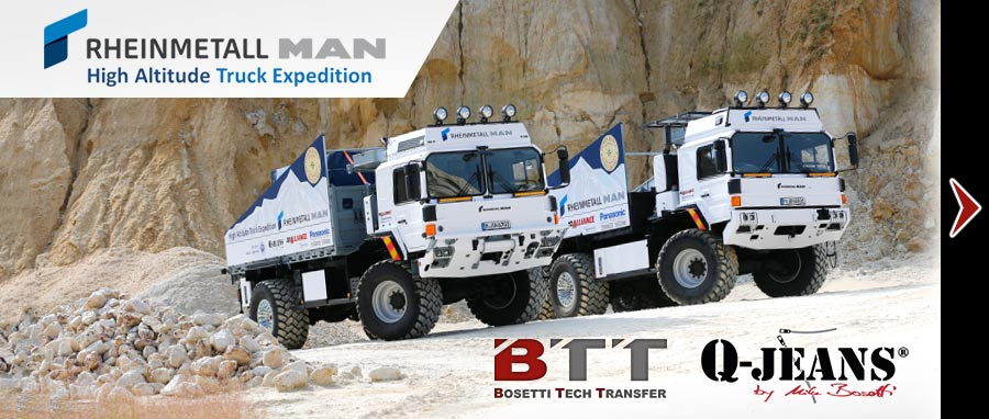 High Altitude Truck Expedition Bosetti QJeans